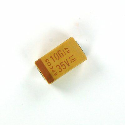 20pcs Epcos Kemet 10uf 35v Tantalum Smd Smt Capacitor Low Esr