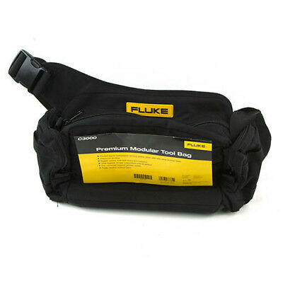 Fluke C3000 Premium Modular Tool Bag with Zipper for CNX 3000 Series