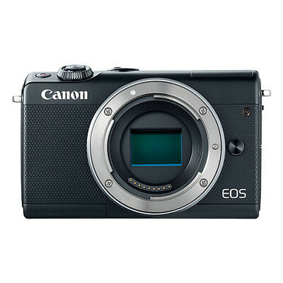 Canon EOS M100 Mirrorless 24.2MP Digital Camera Body Black