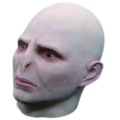 Voldemort Halloween Mask (Namcha Deluxe Latex Voldemort Mask Full Head Halloween Novelty Party)