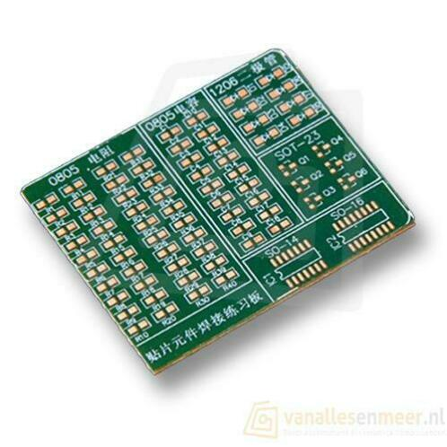 SMD SMT solderen Skills Training Board