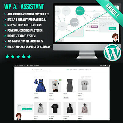 A.i Assistant Guide Visitors Advise Clients Sell Products Wordpress Plugin