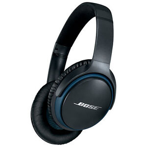 Bose SoundLink II Over-Ear Wireless Headphones with Mic - Black