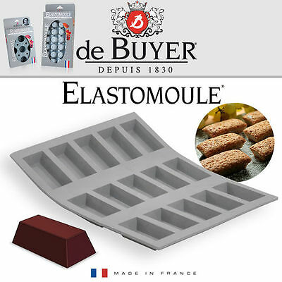 - de Buyer - ELASTOMOULE - 15 Mini Finanzier