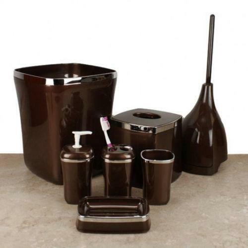 brown bathroom accessories 28 images 5pcs brown