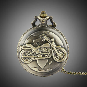 Motorcycle pocket watch  100% New (Xmas is around the corner)