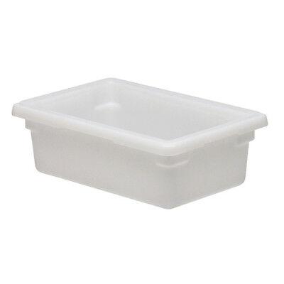 Cambro 12186p148 Cambro Food Storage Box Half-size 3 Gallon White