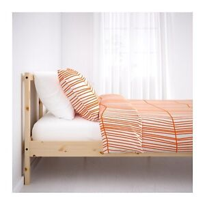 Twin IKEA bed with Mattress and Slats