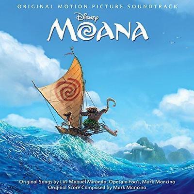 Moana  The Songs    Various Artists  New 12  Vinyl Lp
