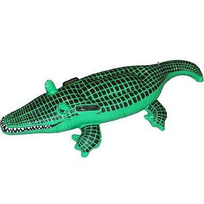 Aufblasbar Krokodil Alligator Tier Kostüm Party Requisite 140cm von Smiffys