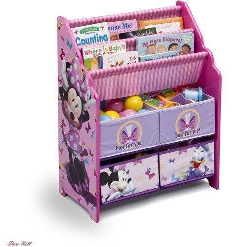 Kids Toy and Book Storage Containers Box