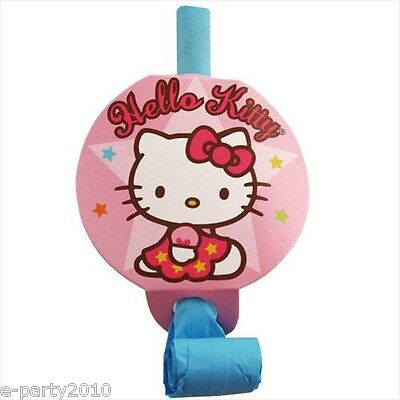 Hello Kitty Supplies (HELLO KITTY Balloon Dream BLOWOUTS (8) ~ Birthday Party Supplies Favors)