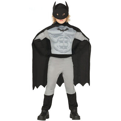 costume vestito Batman supereroe carnevale bambino 10-12 anni