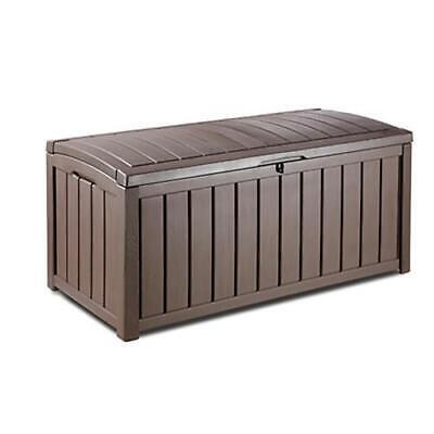 Storage Deck Box Outdoor Container Bin Chest Patio Keter 101