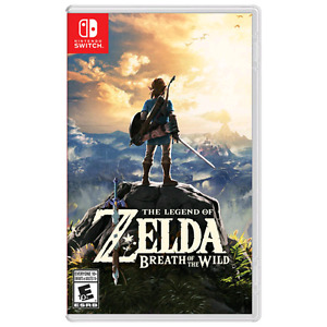 Zelda breath of the wild (Nintendo Switch)