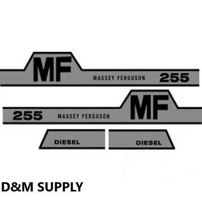 Decal Set To Fit Massey Ferguson 255