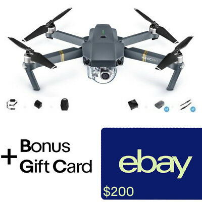 DJI Mavic Pro Fly More Combo - Active Track, AvoidanceGPS + $200 eBay Gift Card!