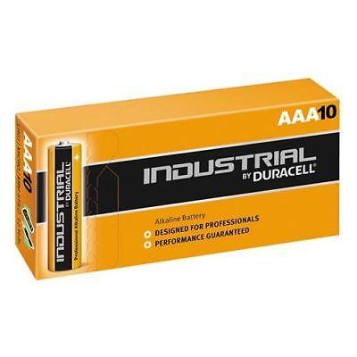 Caja 10 Pilas Duracell LR03 AAA Industrial