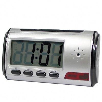 Digital Alarm Clock DVR Motion Detector Servallance Audio Video Camera