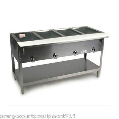 New 4 Well Gas Steam Table Duke Aerohot Db304 Dry Bath Nsf 4406 Food Hot Cook