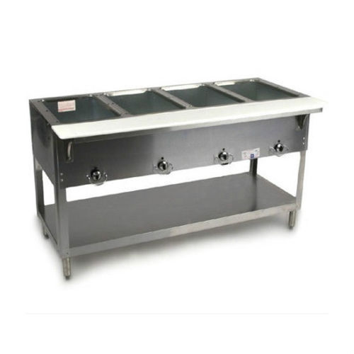 NEW 4 Well Electric Steam Table Duke AeroHot E304 Dry Bath NSF #1199 Food Hot US