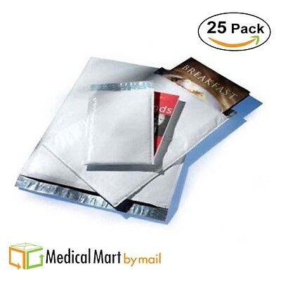25  5 10 5X16 Poly Bubble Mailer Envelope Shipping Wrap Sealed Mailing Bags