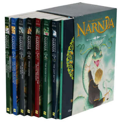 The Chronicles of Narnia by C.S. Lewis: 8 Book Box Set, SHIPS and SOLD in USA