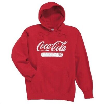 COCA COLA COKE RED CLASSIC HOODIE 1886  2XL  NEW!!!