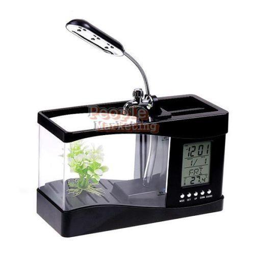 Small fish tank ebay for Mini fish tank