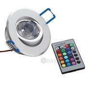 LED Einbaustrahler RGB