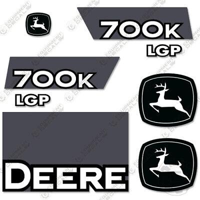 John Deere 700k Lgp Decal Kit Dozer Crawler Tractor Stickers - Version 2
