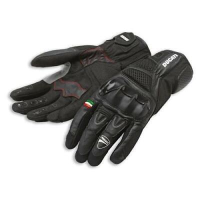 DUCATI MERGE Leder Handschuhe Leather Gloves X-Diavel schwarz NEU !!