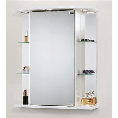 Jokey Spiegelschrank Havana weiss Badschrank Badspiegel Badmöbel Spiegel Hänger