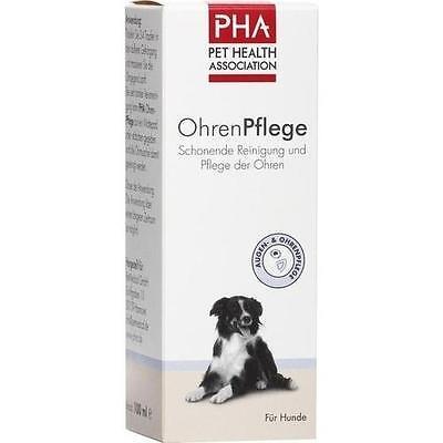 PHA OhrenPflege Tropfen f.Hunde 100 ml PZN 7548965 (Hund Ohr Medikamente)