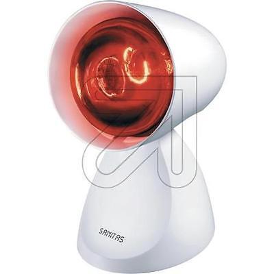 Sanitas Rotlichtlampe SIL 06, Zuleitung 1,5m 3 einstellbare Neigungswinkel, weiß