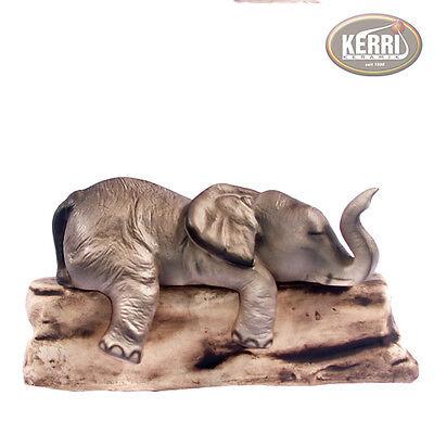 Elefant Keramik  Sammeln Handarbeit Kantenhocker