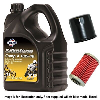 <em>VICTORY</em> 1731 <em>CROSS COUNTRY TOUR</em> 2016 SILKOLENE COMP 4 XP OIL AND FILTE