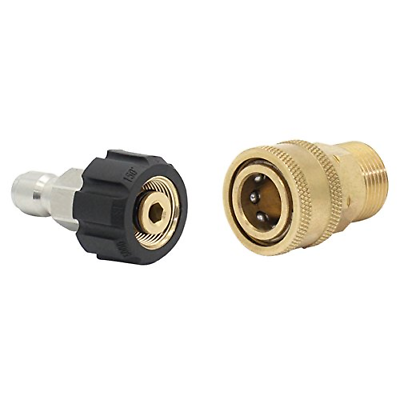 Twinkle Star Pressure Washer Adapter Set Quick Connect Kit,