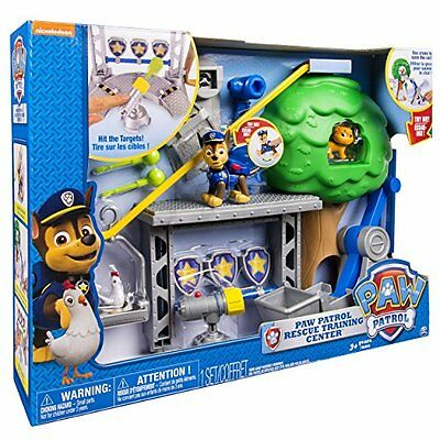 NEW Paw Patrol Rescue Training Center Playset FREE FAST SHIPPING TV Movie Toys