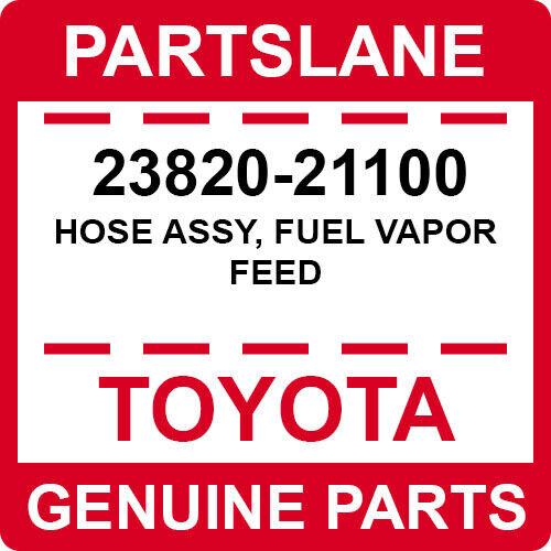 23820-21100 Toyota Oem Genuine Hose Assy, Fuel Vapor Feed