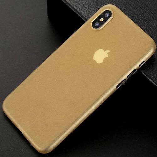 For Apple iPhone XS Max X 7 6 Ultra-thin Slim Matte Frosted Hard Back Case Cover