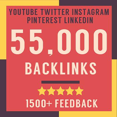 Купить 55000 Verified SEO Backlinks - Boost Your Social Media Google Rankings