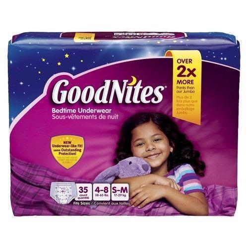 Goodnites Girls Baby Ebay
