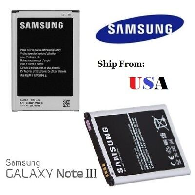 Samsung Galaxy Note 3 Replacement Battery 3200mAh N900 Cell Made in Korea