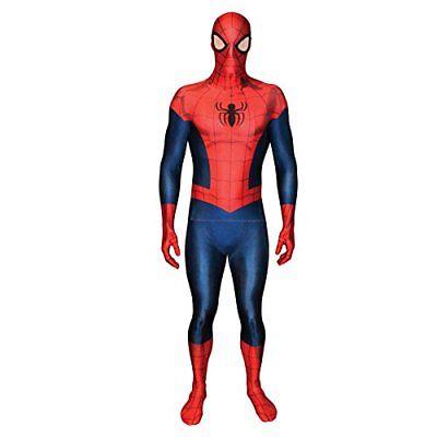 Spiderman Morphsuit Kostüm (Licensed Morphsuits Spider-Man Adult Fancy Dress Costume XL 59 - 6174cm - 1)