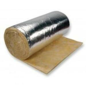 "Duct wrap Foil FSK Insulation , R12 - 3.5""x 48"", Roll 50 ft."