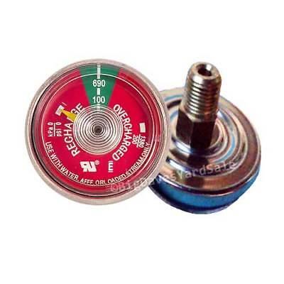 1 - 100 Pressure Gauge For Portable Water Pressure Fire Extinguisher