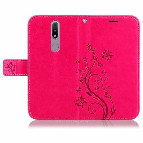 Elegant Bookcover Design: Nokia 2.4 H Lle Handy Tasche Handyh Lle Wallet Case