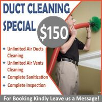 Air Duct And Furnace Cleaning Services ( Unbelievable Offer )
