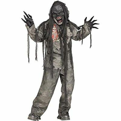 Fun World Burning Dead Zombie Costume for Kids - Zombie Costumes For Children